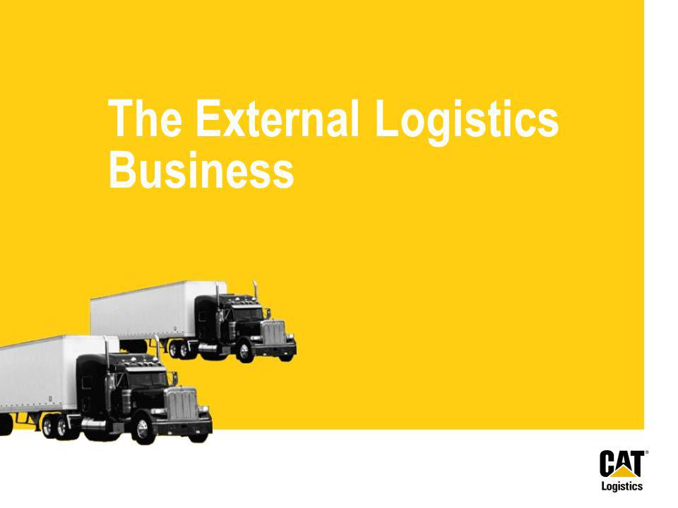 The External Logistics Business