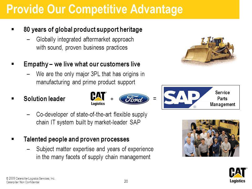 Provide Our Competitive Advantage