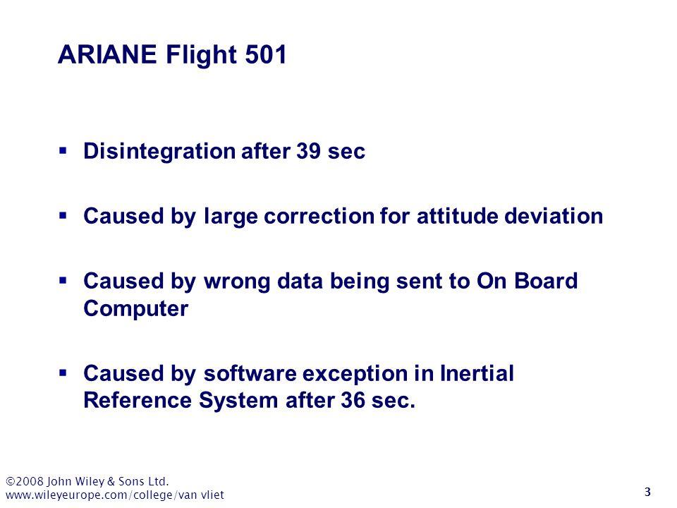 ARIANE Flight 501 Disintegration after 39 sec