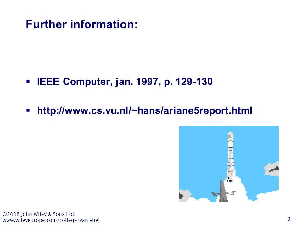Further information: IEEE Computer, jan. 1997, p. 129-130