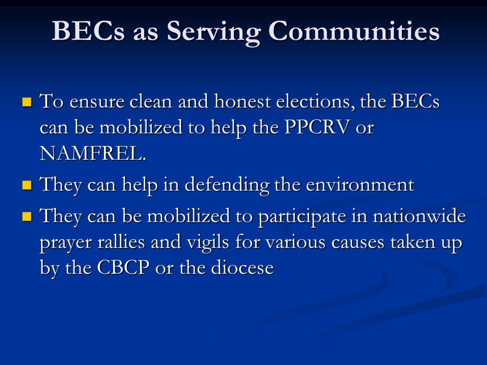 BECs as Serving Communities