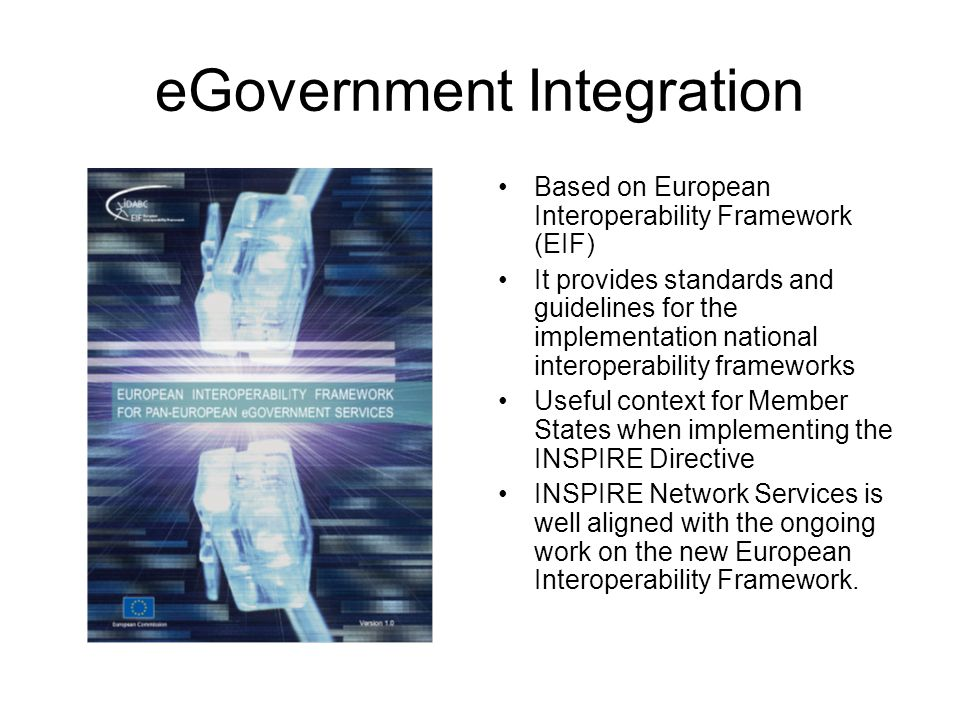 eGovernment Integration