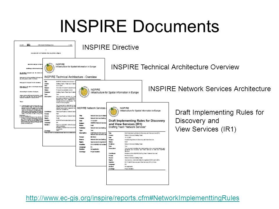 INSPIRE Documents INSPIRE Directive