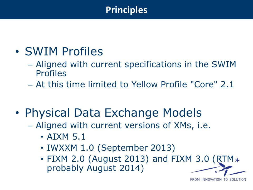 Physical Data Exchange Models