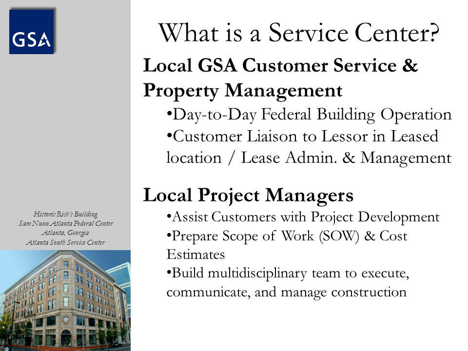 What is a Service Center