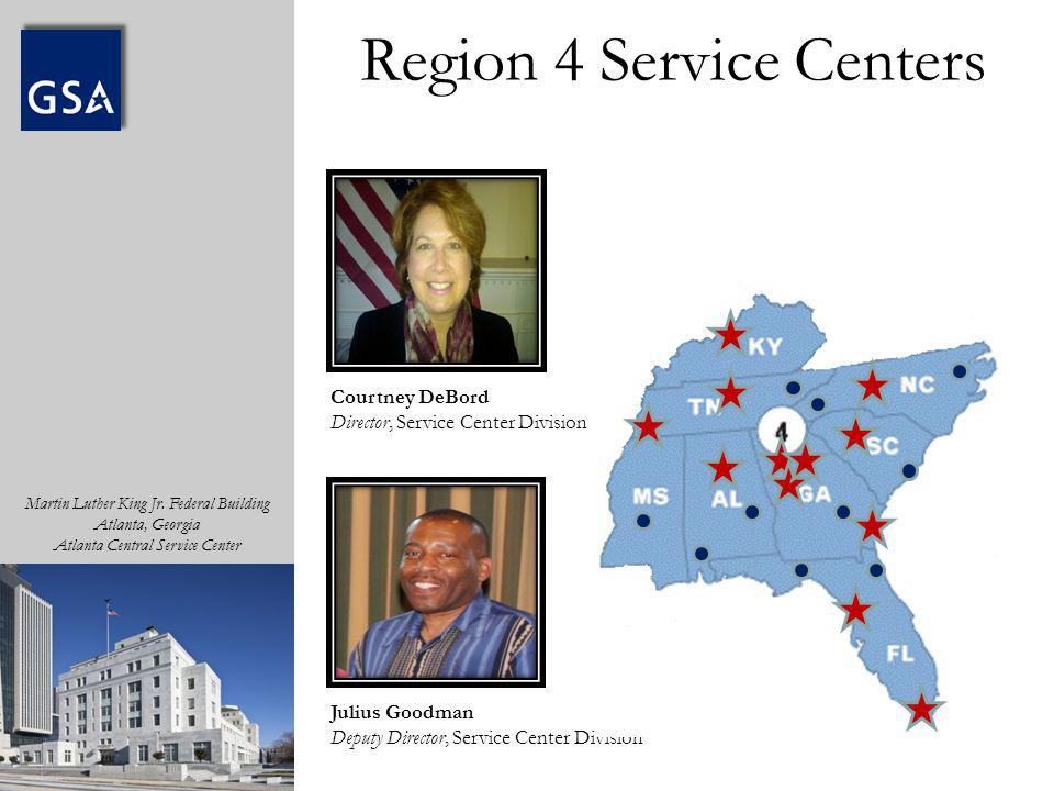 Region 4 Service Centers