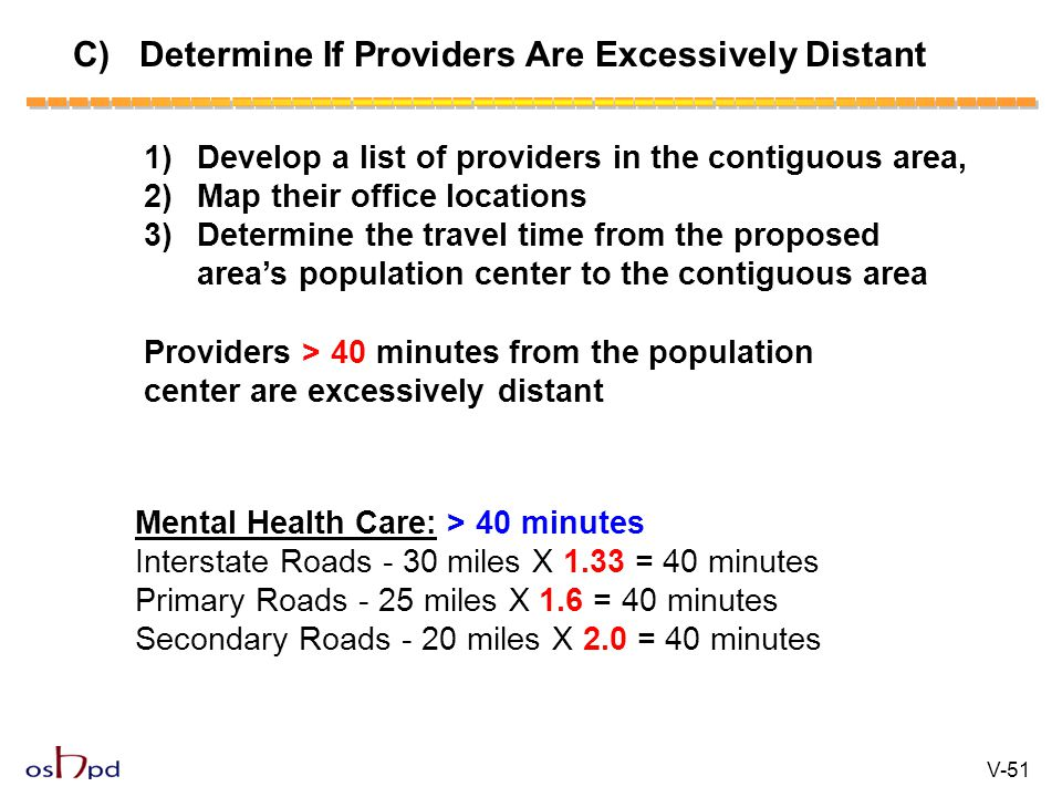C) Determine If Providers Are Excessively Distant