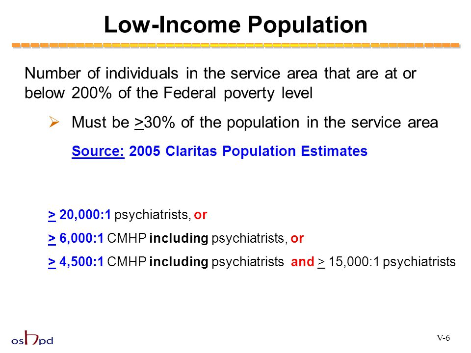 Low-Income Population