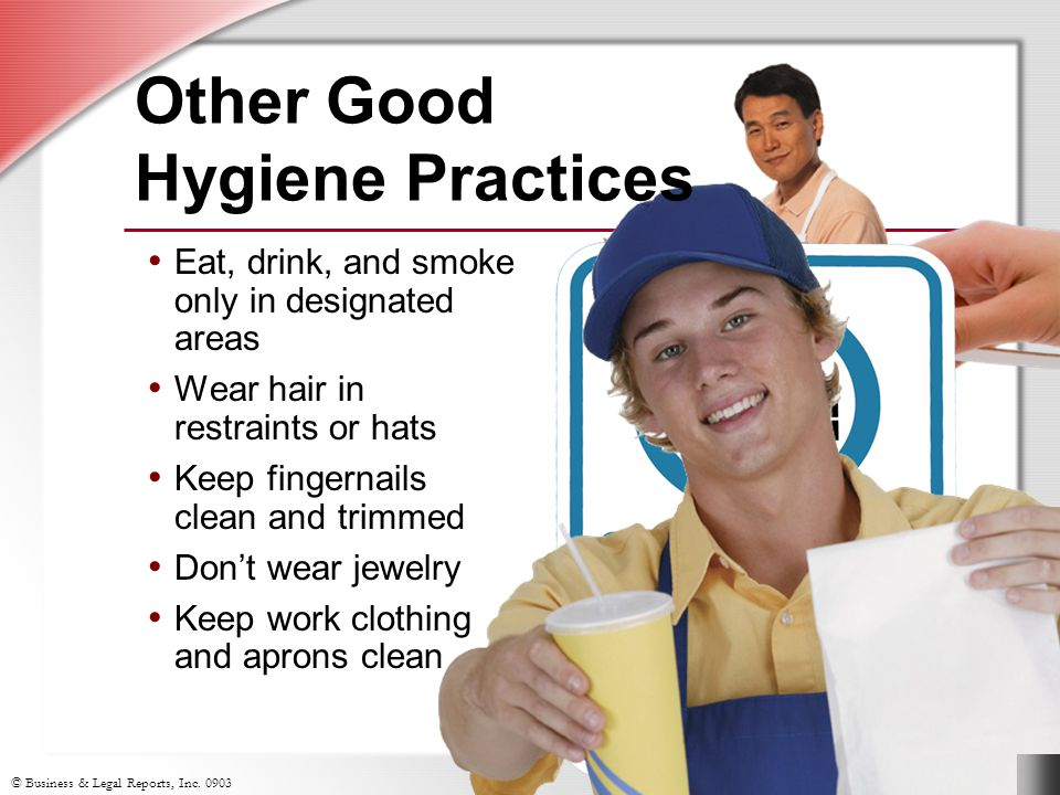 Other Good Hygiene Practices