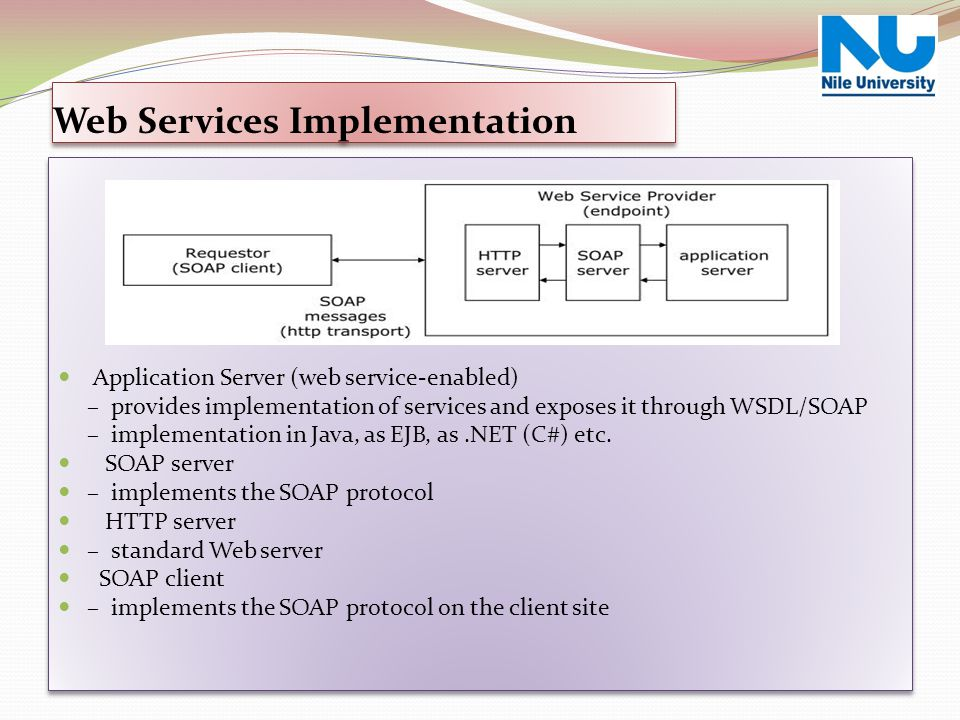 Web Services Implementation