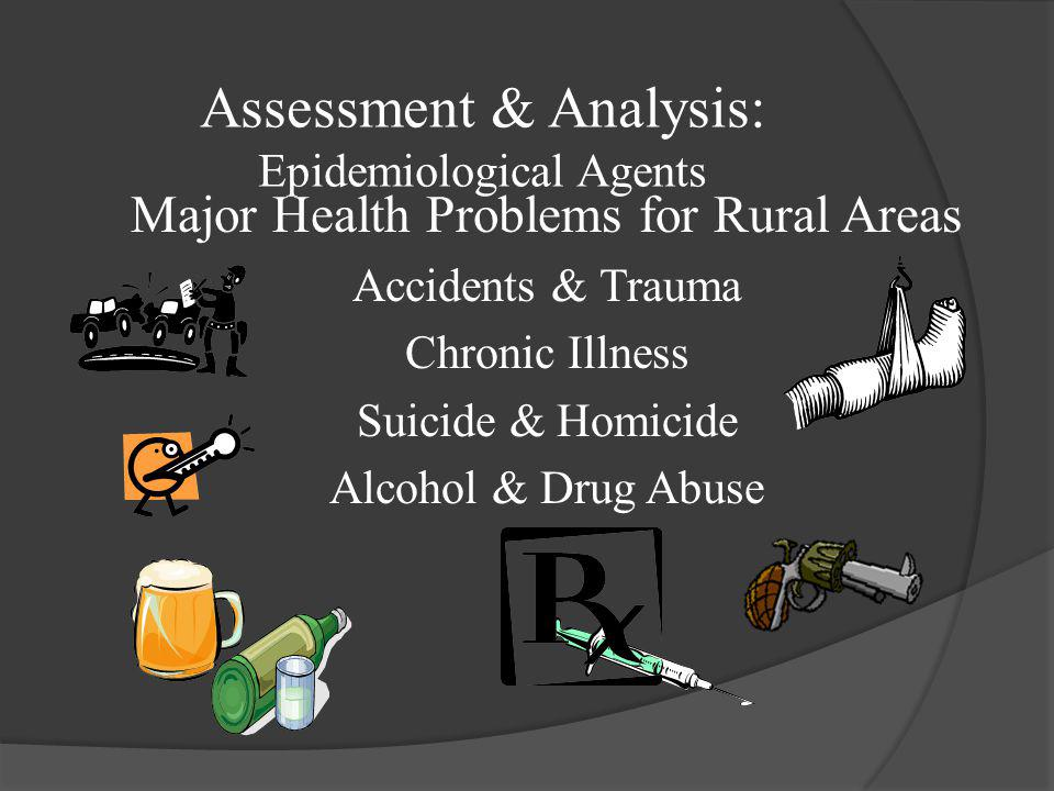 Assessment & Analysis: Epidemiological Agents