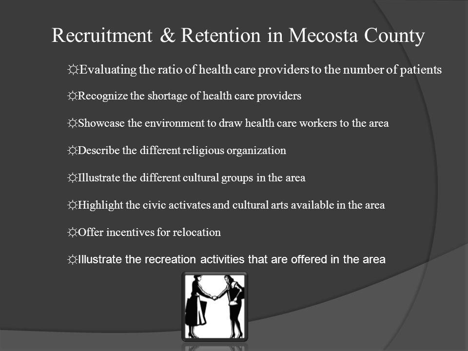 Recruitment & Retention in Mecosta County