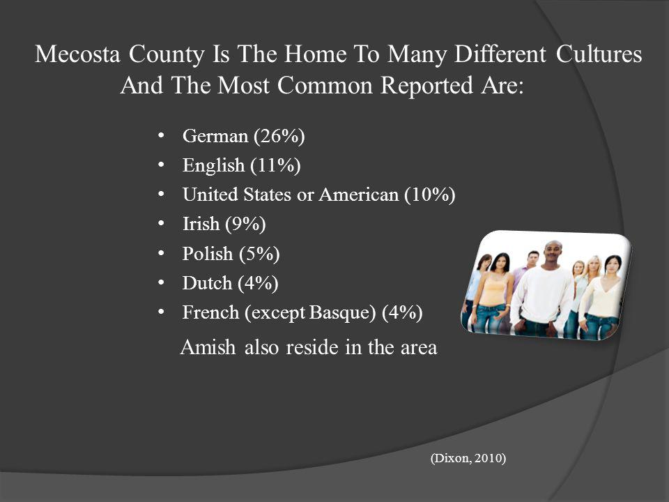 Mecosta County Is The Home To Many Different Cultures