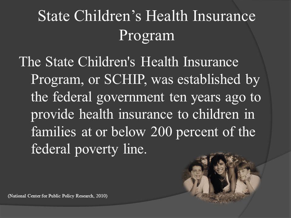State Children's Health Insurance Program