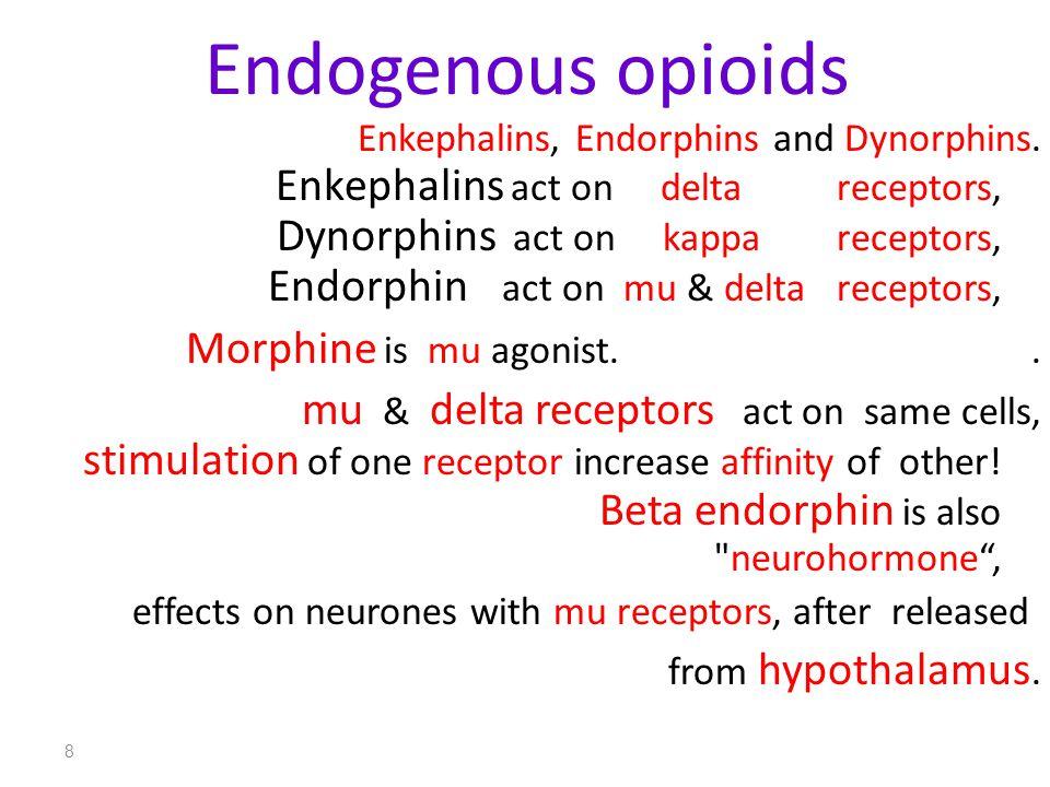 Endogenous opioids