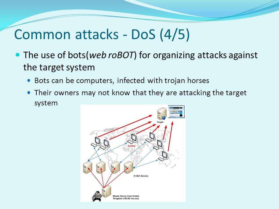 Common attacks - DoS (4/5)