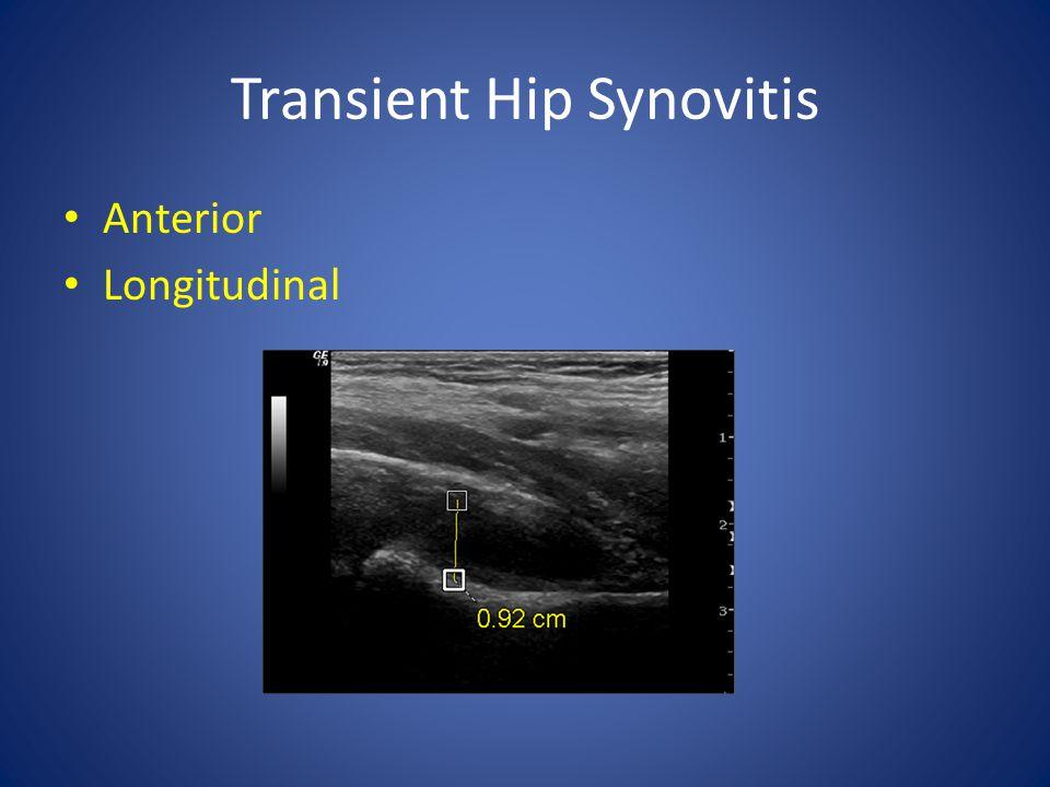 Transient Hip Synovitis