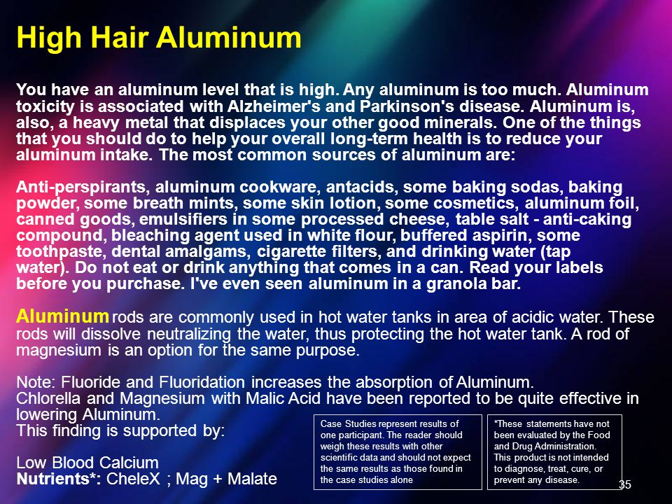 High Hair Aluminum