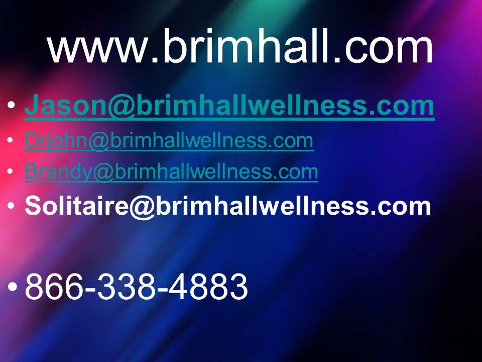 www.brimhall.com 866-338-4883 Jason@brimhallwellness.com