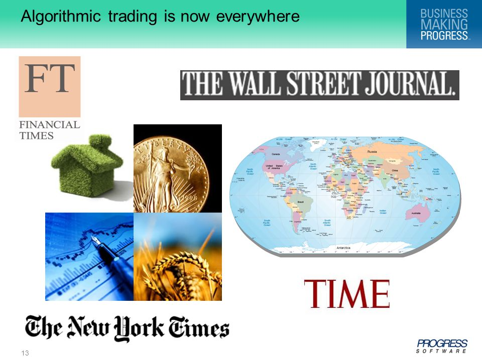 Algorithmic trading is now everywhere
