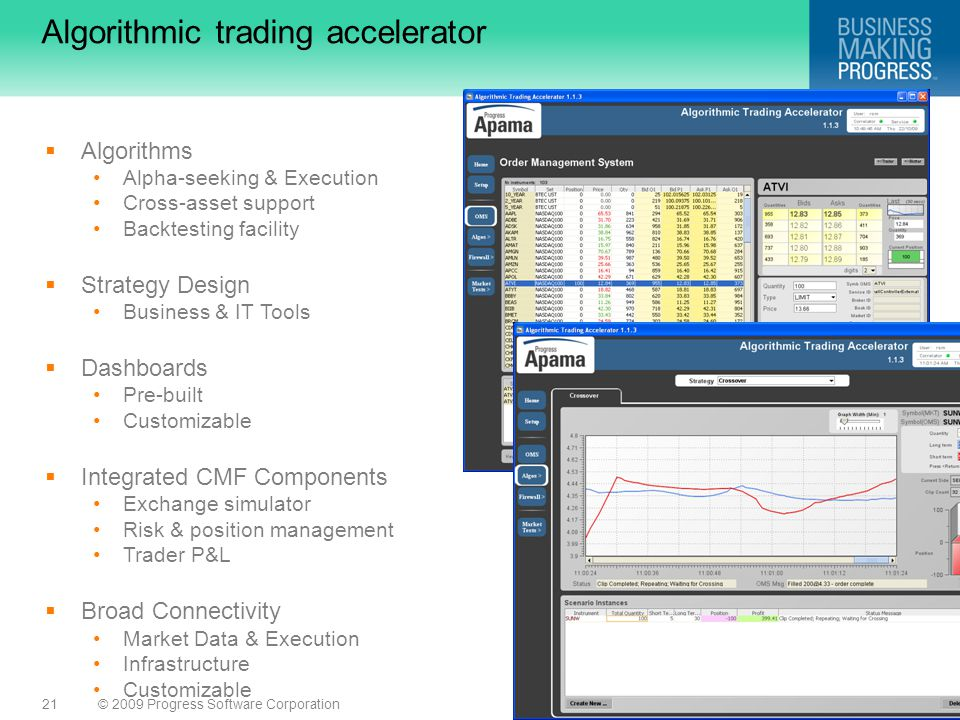 Algorithmic trading accelerator