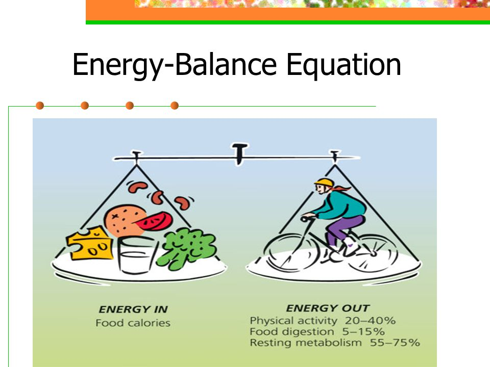 Energy-Balance Equation