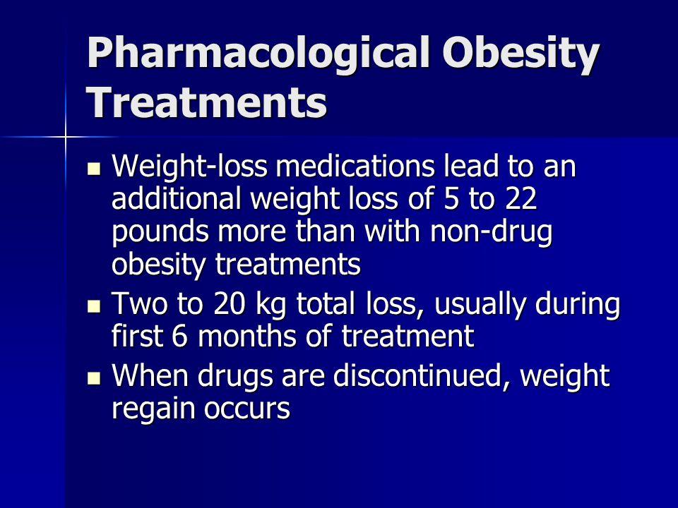 Pharmacological Obesity Treatments