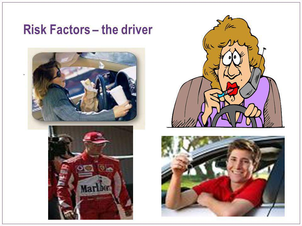 Risk Factors – the driver
