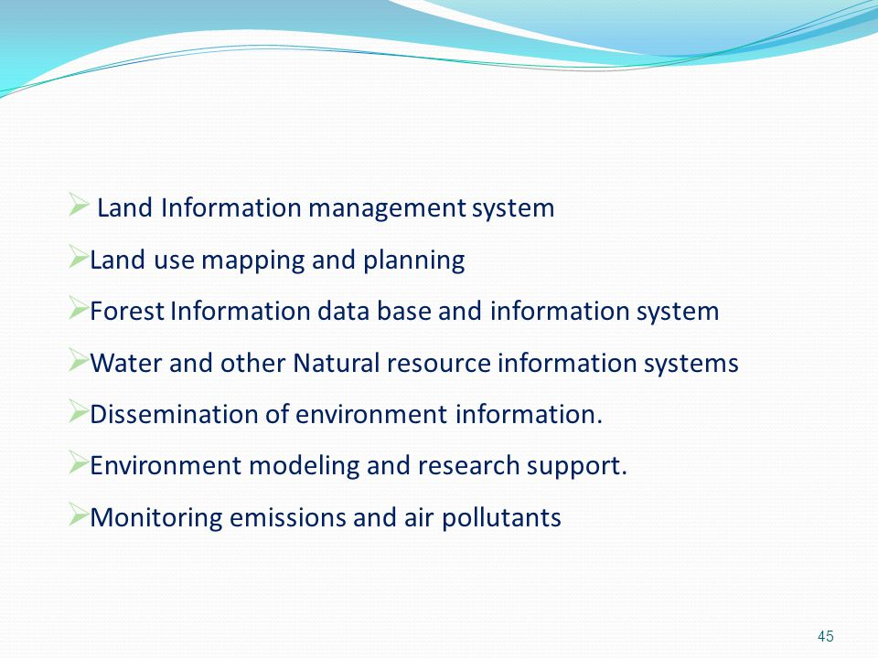 Land Information management system
