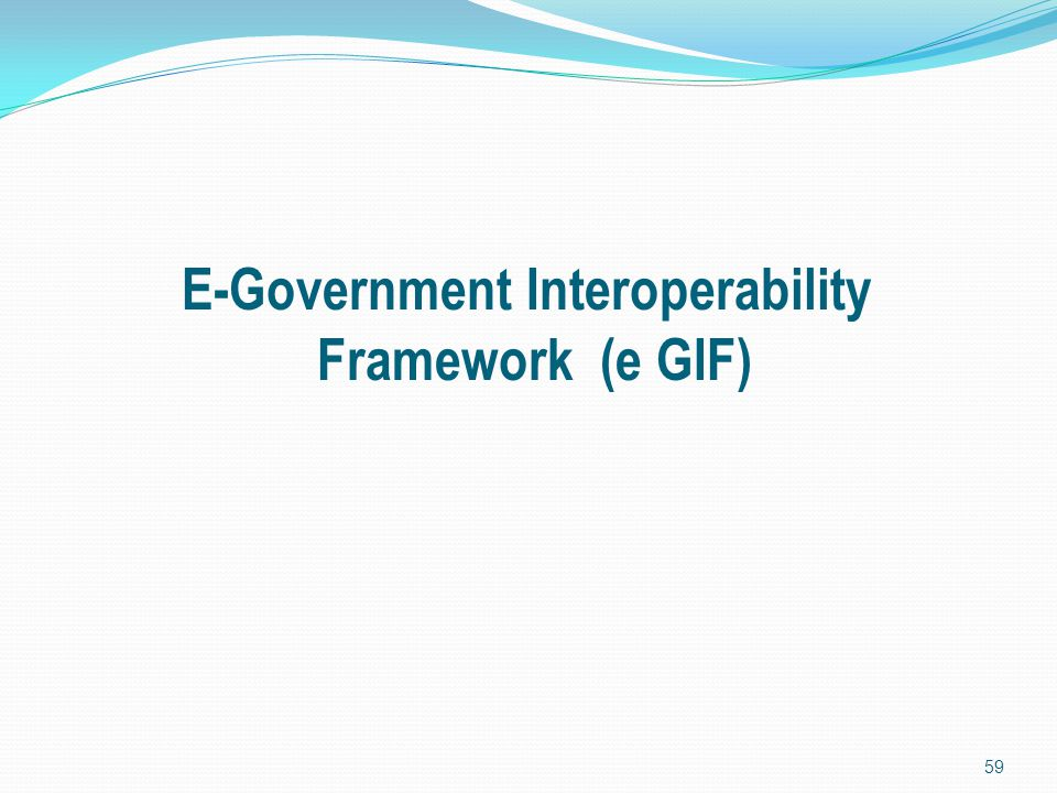E-Government Interoperability