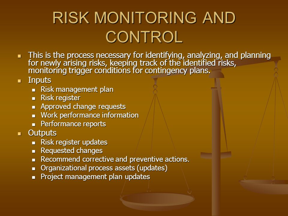 Project Risk Management - Ppt Video Online Download