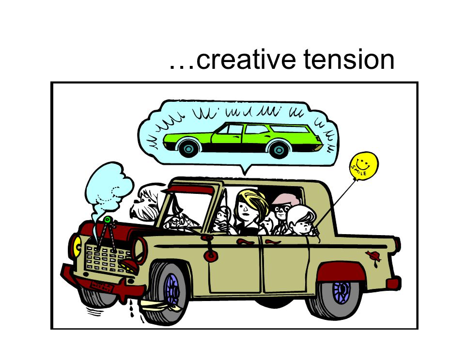 …creative tension