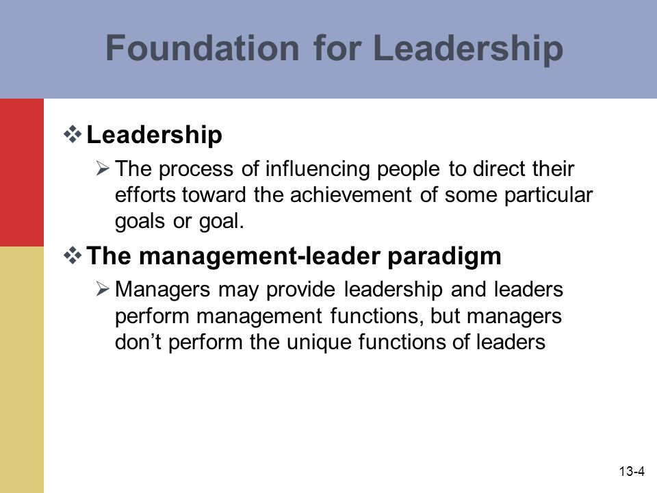 Foundation for Leadership