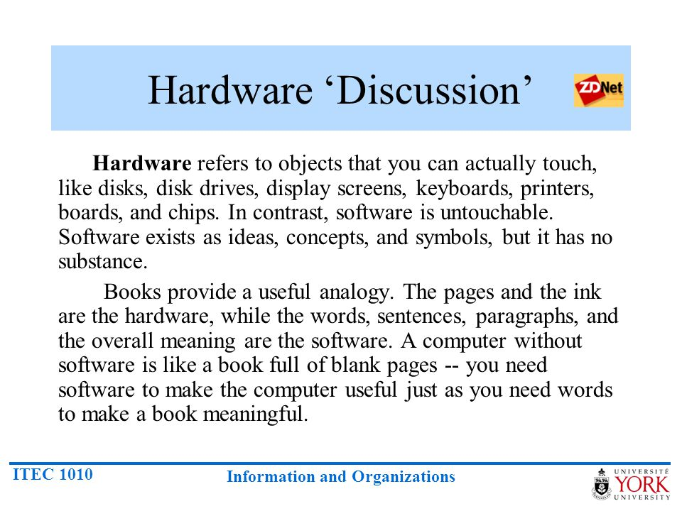 Hardware 'Discussion'