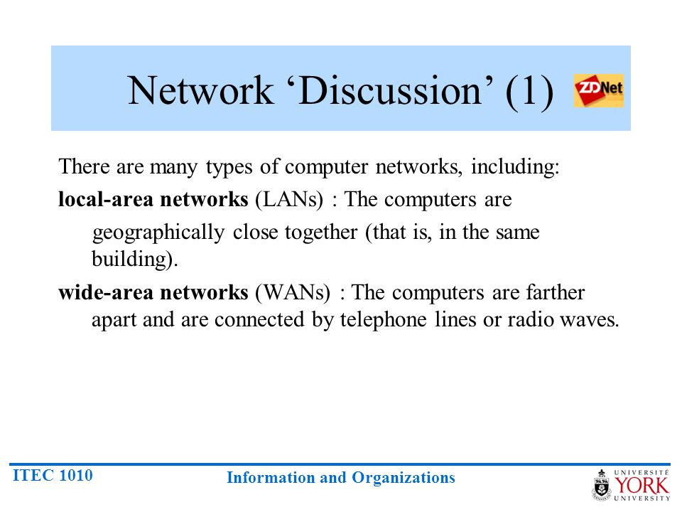 Network 'Discussion' (1)