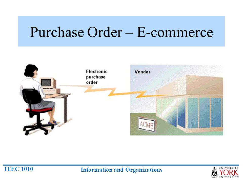 Purchase Order – E-commerce