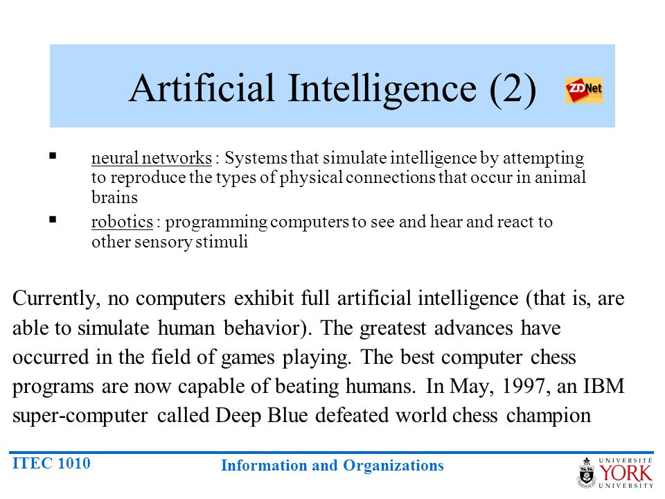 Artificial Intelligence (2)