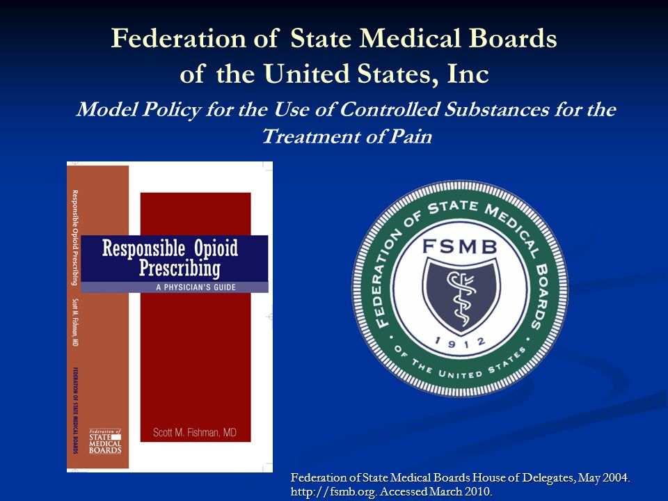 Federation of State Medical Boards of the United States, Inc