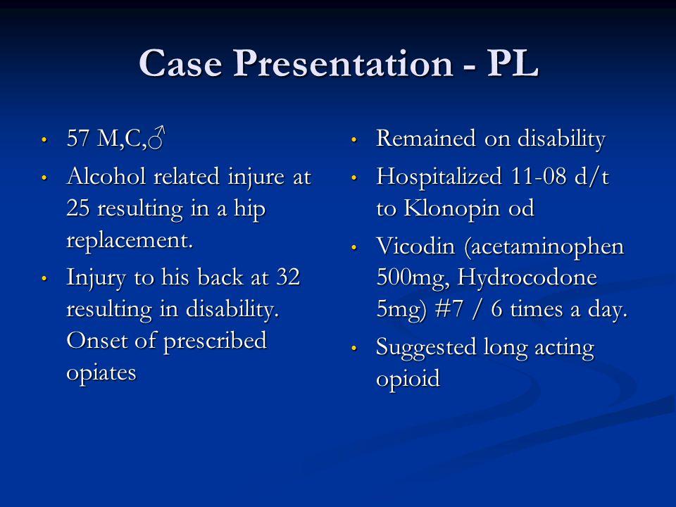 Case Presentation - PL 57 M,C,♂