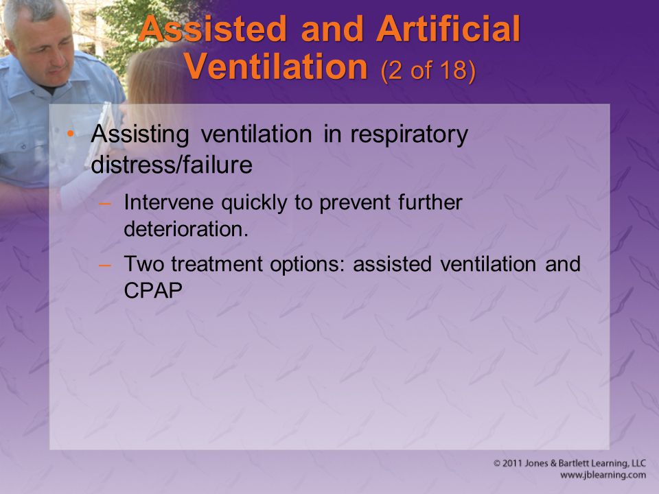 Assisted and Artificial Ventilation (2 of 18)