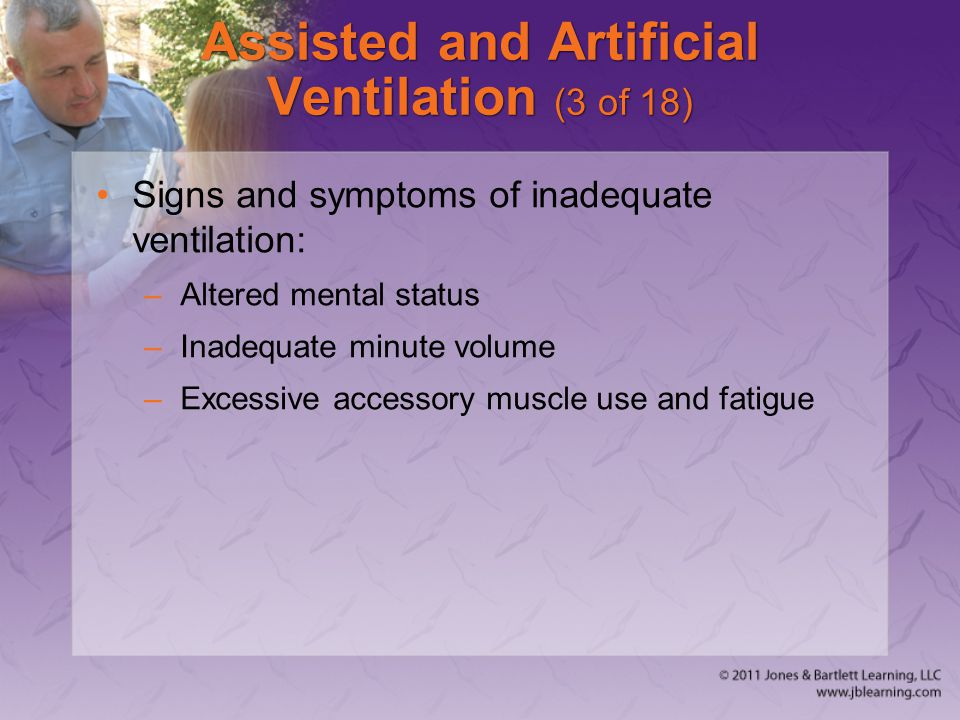 Assisted and Artificial Ventilation (3 of 18)