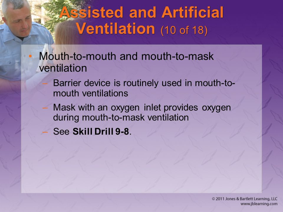 Assisted and Artificial Ventilation (10 of 18)