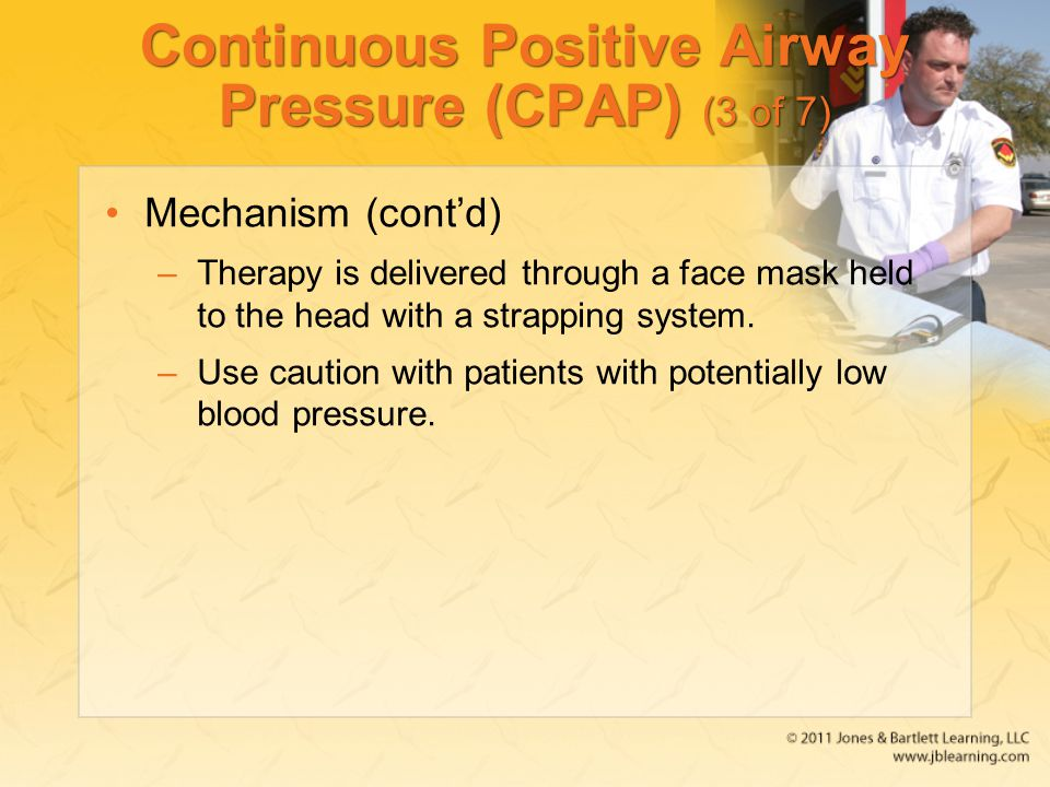 Continuous Positive Airway Pressure (CPAP) (3 of 7)
