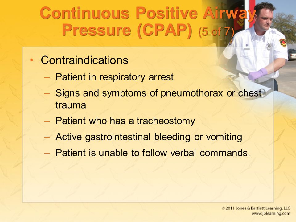 Continuous Positive Airway Pressure (CPAP) (5 of 7)