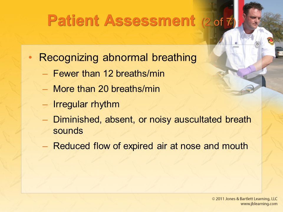 Patient Assessment (2 of 7)