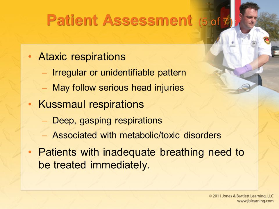 Patient Assessment (5 of 7)