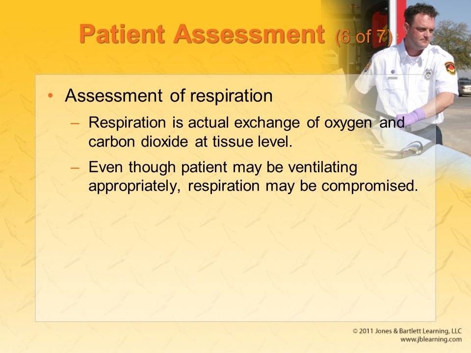 Patient Assessment (6 of 7)