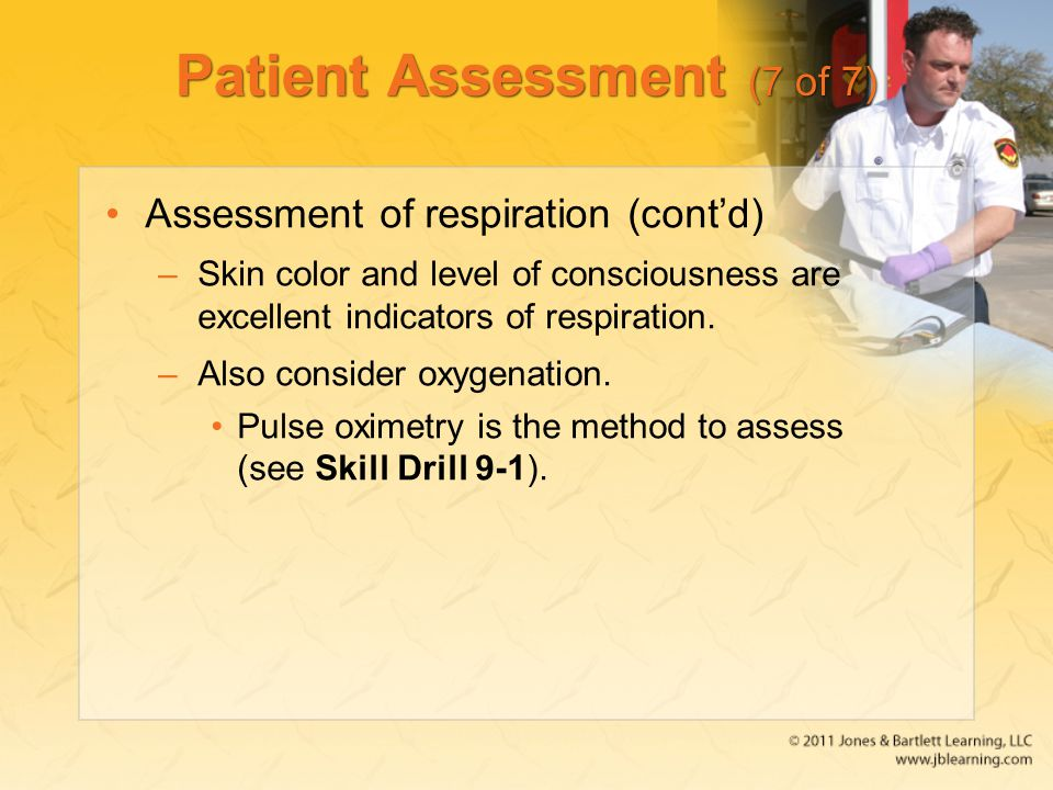 Patient Assessment (7 of 7)
