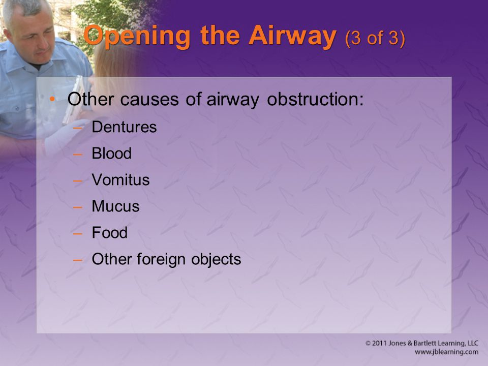 Opening the Airway (3 of 3)