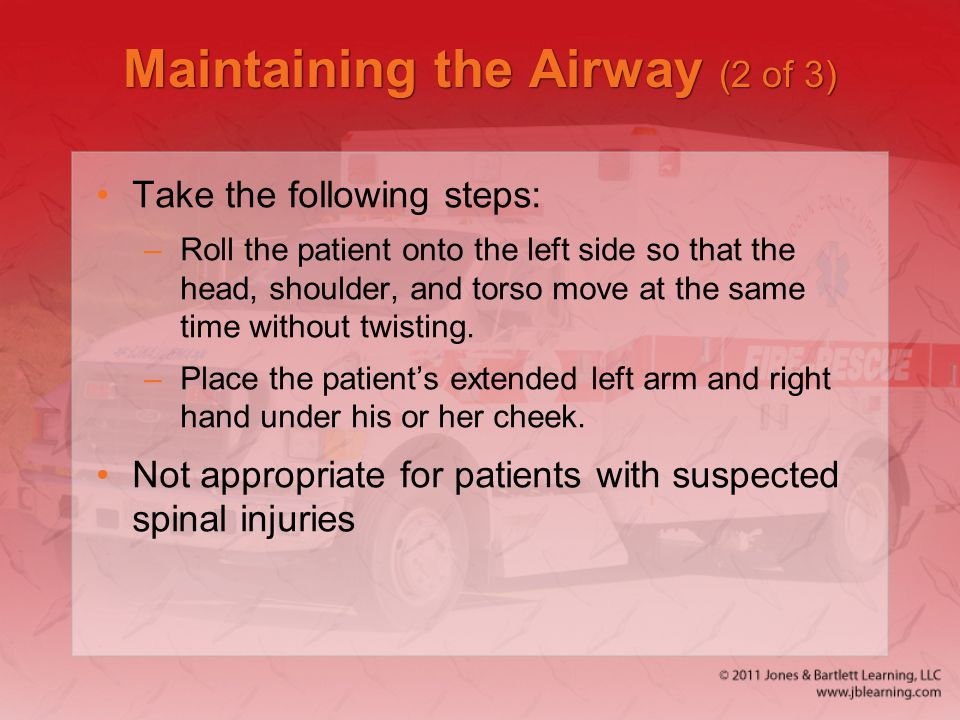 Maintaining the Airway (2 of 3)